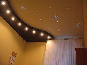 Натяжные потолки – рекомендации дизайнерам