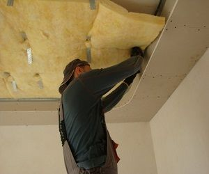 Шумоизоляция под натяжной потолок. Принцип работы и устройство